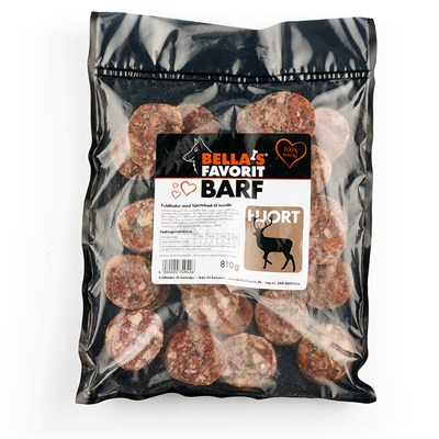 Bella's Favorit Barf 27x30g Hjort
