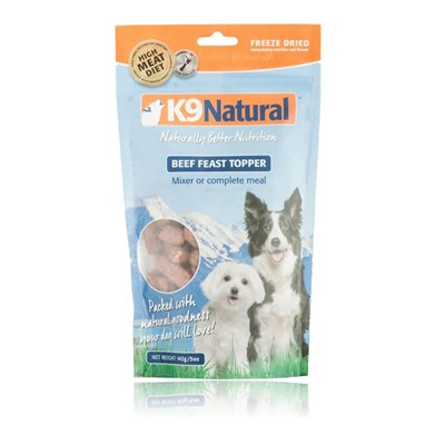 K9 Natural Topper Okse 142g