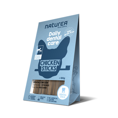 Naturea Dental Dog Chicken 100g