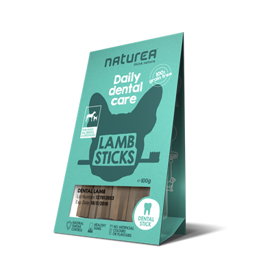 Naturea Dental Dog Lamb 100g