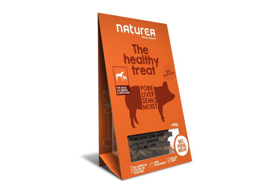 Naturea Treat Dog Pork Liver 100g