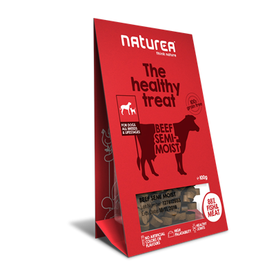 Naturea Treat Dog Beef 100g