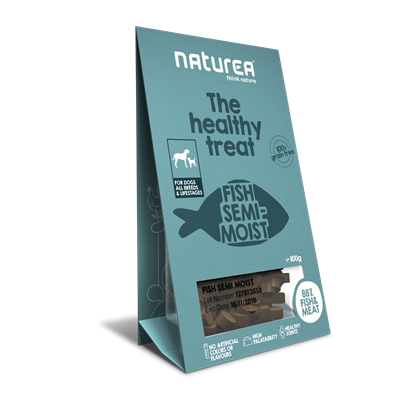 Naturea Treat Dog Fish 100g