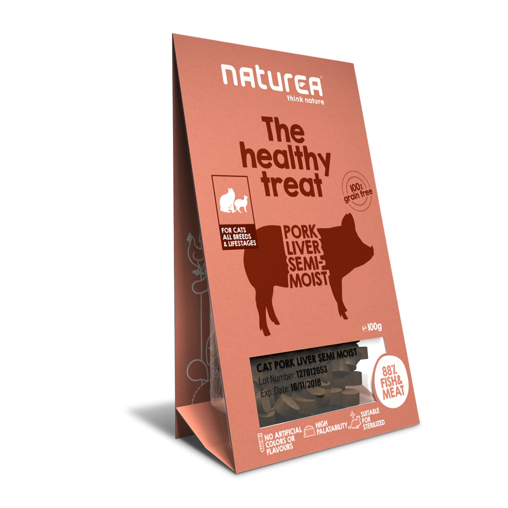 Naturea Treat Cat Pork Liver 100g