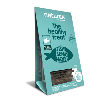 Naturea Treat Cat Fish 100g