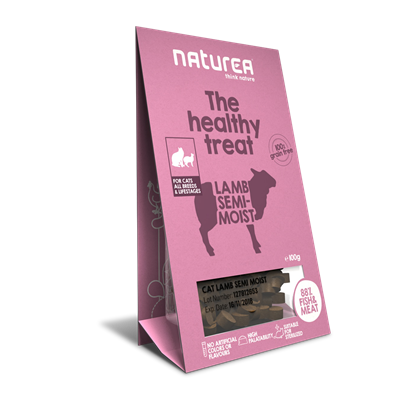 Naturea Treat Cat Lamb 100g