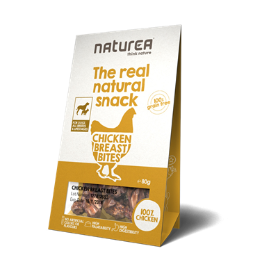 Naturea Snack Dog Chicken Breast 80g