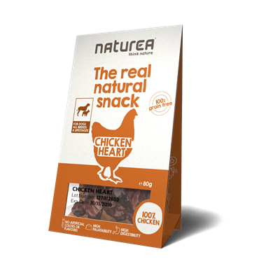 Naturea Snack Dog Chicken Heart 80g