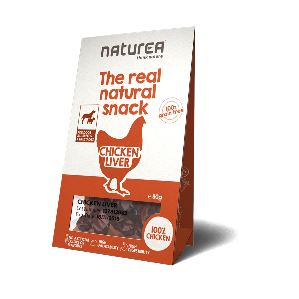 Naturea Snack Dog Chicken Liver 80g