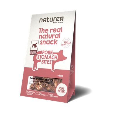Naturea Snack Dog Pork Stomach 80g