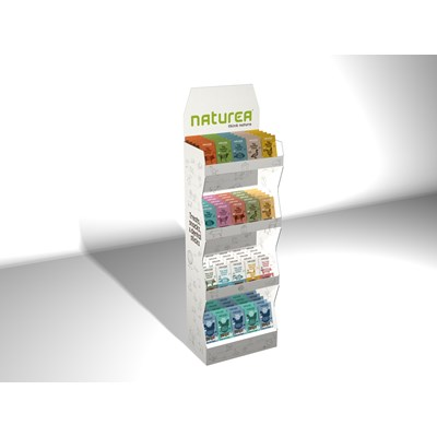 Naturea Display Snacks mv gulv