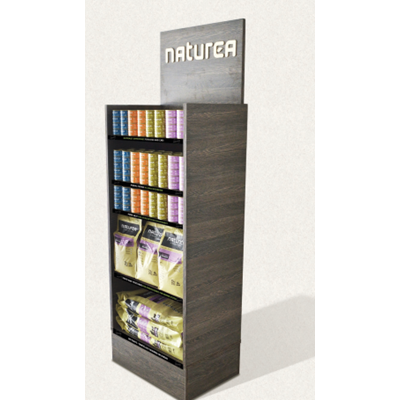 Naturea Display Tørfoder Reol 59x42x140